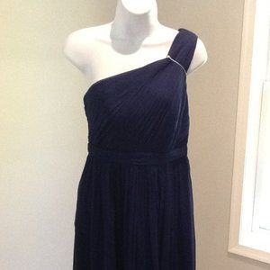 J. Crew Tall Kylie Silk Chiffon Dress